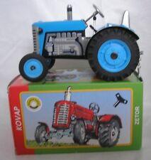 Remorque tracteur Zetor 20 bleu Kovap 1/25ième