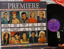 VARIOUS // Premiere: The Top Motion Picture Stars/ ORIG 1957 US Mono LP // MINT-