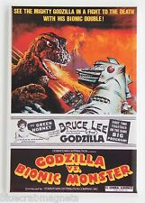 Godzilla vs Bionic Monster FRIDGE MAGNET (2.5 x 3.5 inches) movie poster