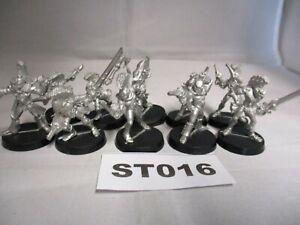 OOP Warhammer 40K Eldar Harlequins x 10 Metal RefST016