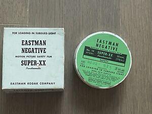 RARE Eastman Kodak Negative SUPER-XX, 5232 B&W film 35mm x30.5m 100'ft Bulk Roll