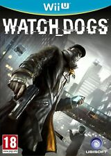 WATCH DOGS WII U - NINTENDO WII U PAL - MINT CONDITION - 1st Class Fast Delivery