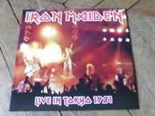 IRON MAIDEN Live in Tokyo 81 2LP