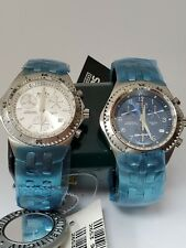 Set Of 2 Orologio Donna Sector  975  Ladies Watch One Blue Dial And Ond Gray...