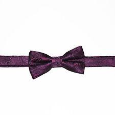 Boy Straigt Cut PAISLEY PATTERN Pre-tied Bow tie Kids Bowtie Wedding Party Prom