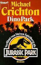 DinoPark von Michael Crichton   Buch   Zustand gut