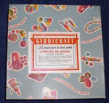 Kiddicraft English playing (I speak English)
