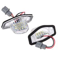 2x Error Free Led License Plate Light Lamp For Honda Crv Fit Jazz Crosstour N3R6