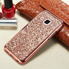 Glitter Bling Diamond TPU Soft Gel Phone Case Cover For Samsung Galaxy S6 S7 #X