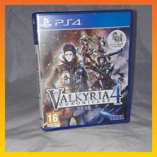 Valkyria Chronicles 4 - PS4 Playstation 4 - BOXED strategy adventure sega