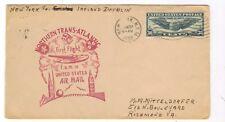1939 FFC NY to Dublin  Yankee Clipper Service