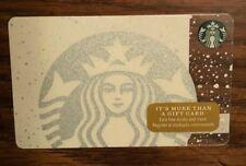 Starbucks White Siren Christmas Gift Card 2016 NEW