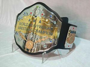 AWA World Heavyweight Wrestling Championship Replica Belt ADULT SIZE