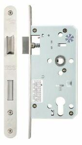 Zoo Mortice DIN 72mm Euro Profile Sash Lock Case Body 55mm & 60mm Backset