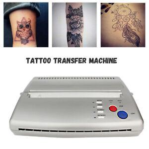Tattoo Stencil Transfer Machine Drucker Zeichnung Thermo Stencil Kopierer