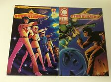 Starblazers #1-2 (Comico/Vol2/1989/Tv Show/0618271) Complete Set Lot Of 2
