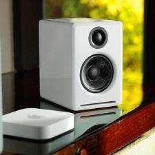 Audioengine A2+ Premium Powered Desktop Speakers - Pair (White)