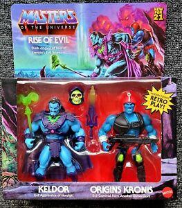 Masters Of The Universe Origins MOTU Keldor Kronis Rise of Evil 2 Pack - Target!
