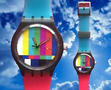 Classic TV Test Watch - Retro 80s designer watch