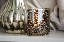 Teelichthalter Rustic - 5x5 Cm Silber