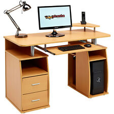 Piranha PC5B Computer Desk for The Home Office Study Furniture Desktop Table
