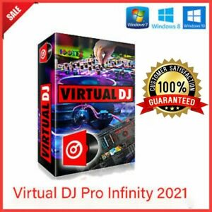 Virtual DJ Pro Infinity 2021 controller mixing software version 8.5