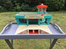 Vintage Fisher Price Airport 1972 Foldaway Toy USA 1970s