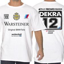 BMW M3 E30 DTM White or Gray T-Shirts Warstainer Dekra
