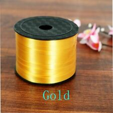 100 Yard Balloon Party Curling Silk Gifts Wrapping Ribbon Rolls Gold