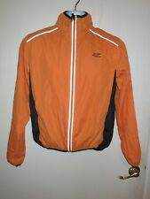 Official Tour de France Lightweight Cycling Bicycle Wind Jacket Orange Medium M