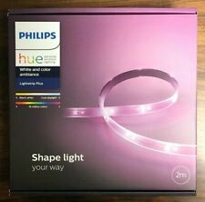 PHILIPS Hue White and color ambiance LightStrip Plus Base 2M 80 inches Smart LED