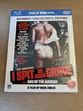 I SPIT ON YOUR GRAVE BLU RAY Ultimate Collectors Edition - New & Sealed Horror