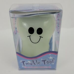 """Twinkle Toof Glow in the Dark Tooth Box, Tooth Fairy, #0102, 3"""" Tall"""