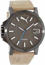 NEW PUMA PU103461017 BROWN ULTRASIZE 50 WATCH - 2 YEAR WARRANTY