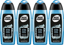 4x Right Guard 2in1  Body& Hair Xtra Cool Shower Gel 250ml