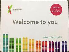 PREPAID & NEW 23andMe Health & Ancestry DNA Test Kit Genetic Serive 75 Reports