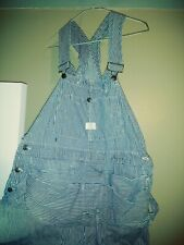 Sears overalls vintage . Union Made. 38x40 With 30 Inseam .railroad.