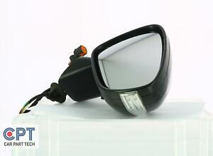 Citroen C4 Grand Picasso 2014+Driver Right H/S Folding Wing Mirror Black A057273
