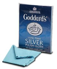 "1 x Goddards long term Silver Polish Cloth Quick & Easy Clean Polish New 12""x17"""