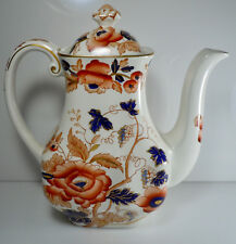 Wedgwood Windermere Orange and Blue Coffee Pot and Lid