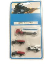 NEW ~ CLASSIC TRUCK SET ~ RETIRED by Bachmann