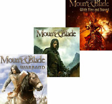 MOUNT & BLADE COLLECTION - Original + Warband + With Fire and Sword - Win XP,7,8