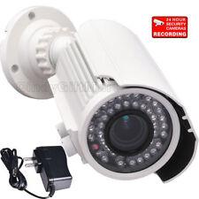 700TVL Infrared Night Vision Security Camera 4-9mm Len w/ SONY Effio-e Power a09