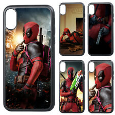 Deadpool Superhero Silicone Phone Case Cover for iPhoneSE X XS XR 11 12 Pro Max