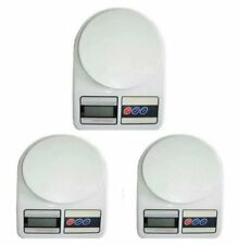 7KG/1G LCD Electronic Kitchen Weighing Scale Set of 3