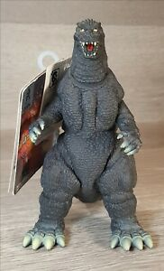 "1998 Bandai GODZILLA Rare Gray Fins Figure Toho Movie 6.5"" US SELLER"