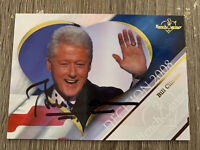 Bill Clinton Hand Signed Autographed Decision 2008 Presidential Card W/COA