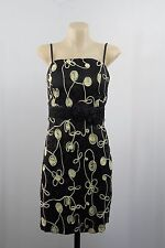 NWT Size L 14 Ladies Little Black Dress Pinup Retro Evening Cocktail Wedding