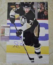 Evgeni Malkin Signed 12x18 (Poster Size!) w JSA COA # K05295 Pittsburgh Penguins