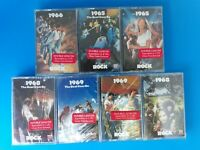 TIME LIFE Lot of 7 NEW SEALED in PLASTIC CASSETTE TAPES CLASSIC ROCK